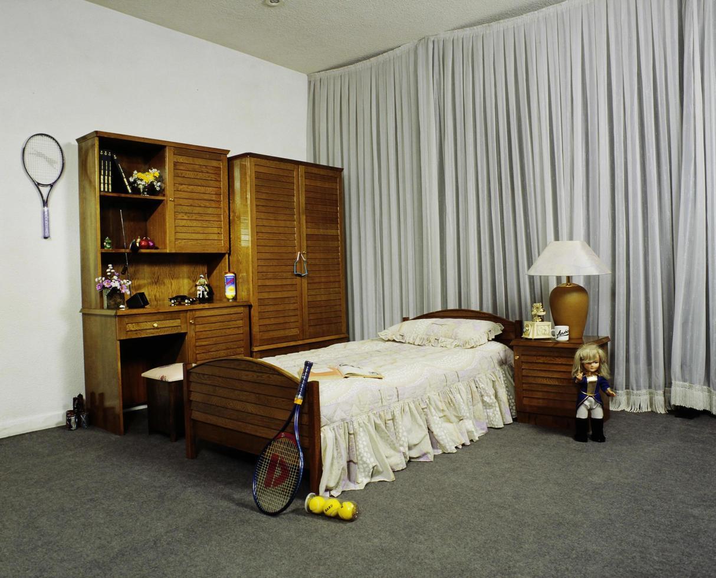 set da pranzo, camera da letto, soggiorno dal design moderno foto