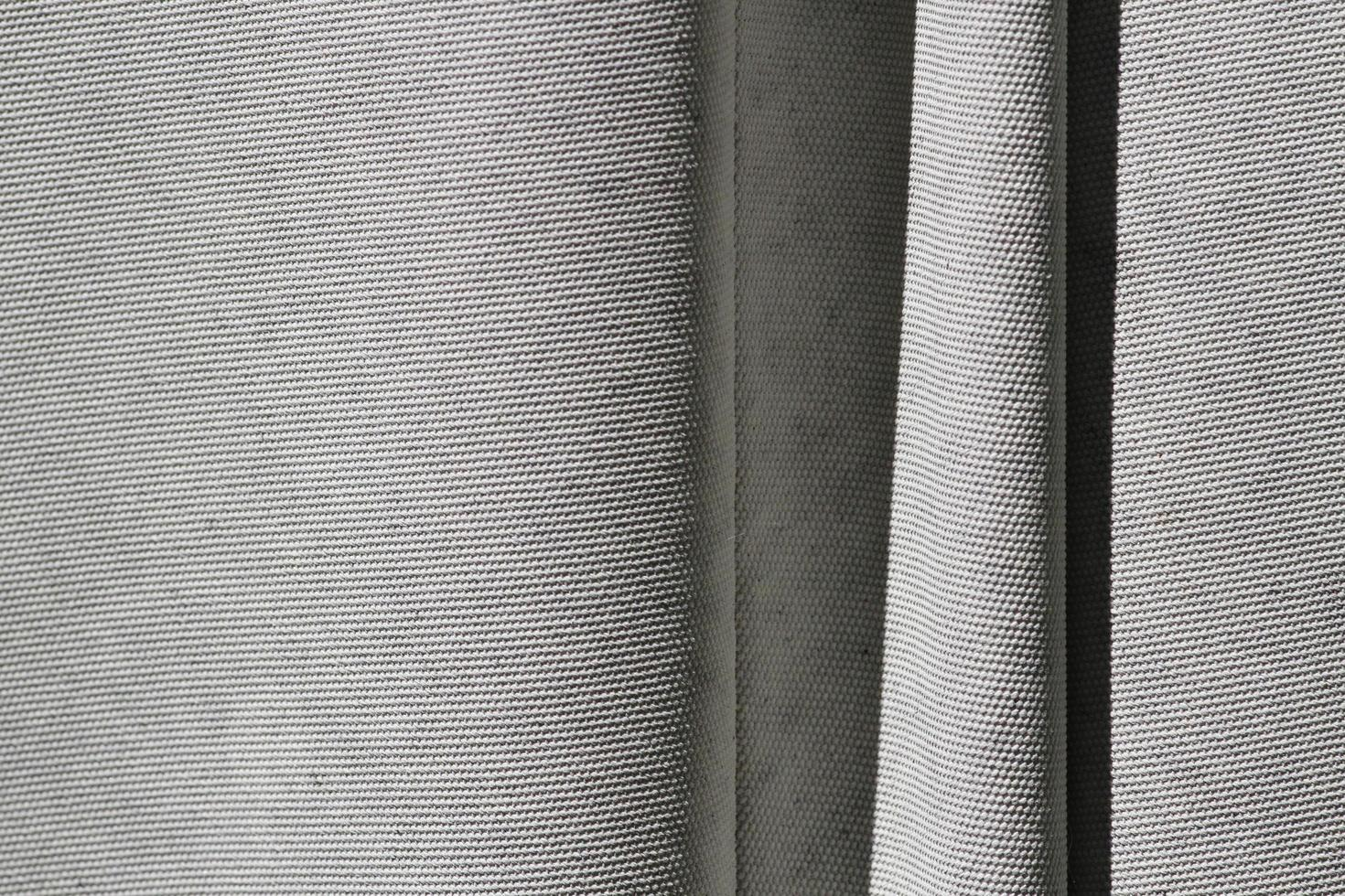 fondo di struttura del panno di tela stropicciata foto