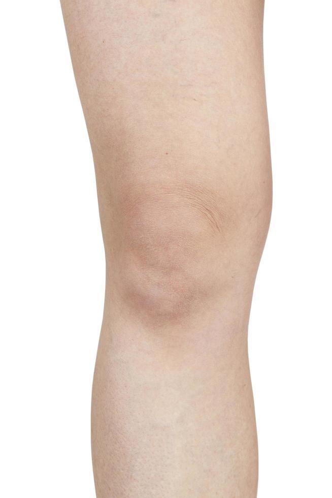 gambe femminili a gomito foto