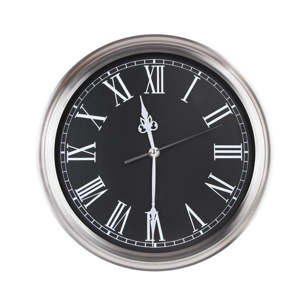 le undici e mezza sull'orologio foto