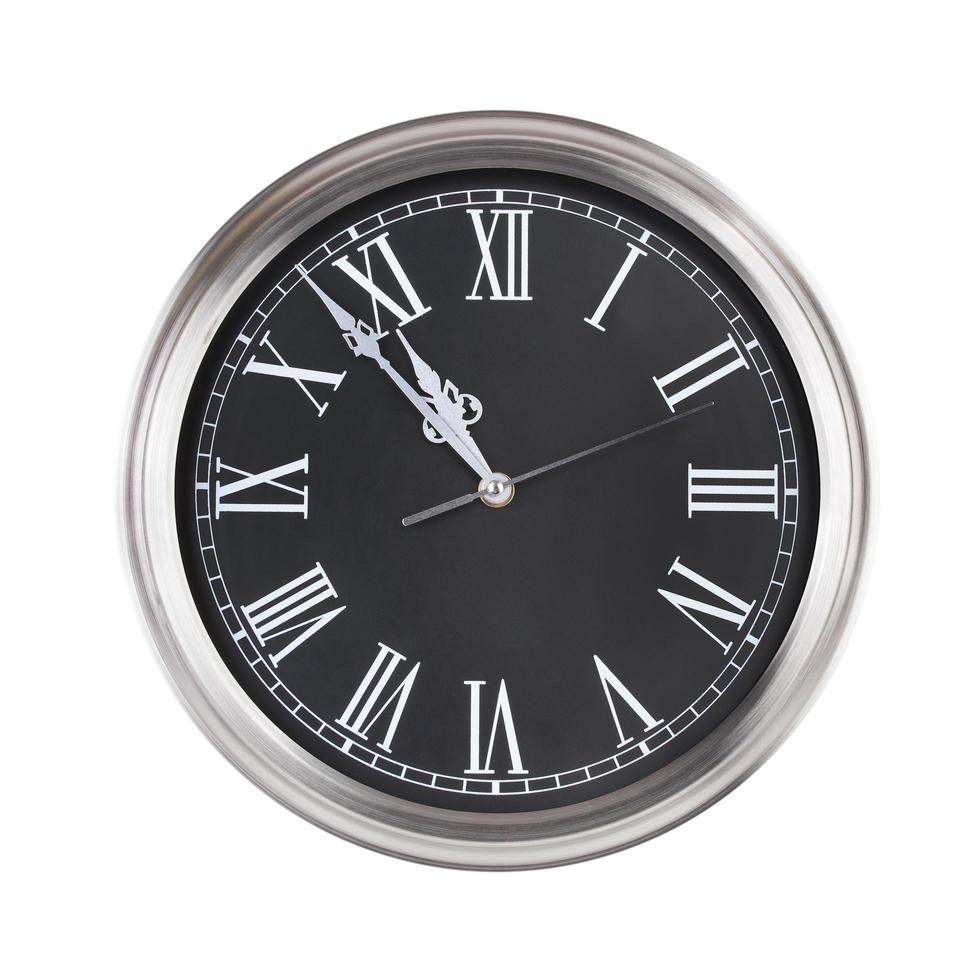 cinque minuti alle undici sull'orologio foto