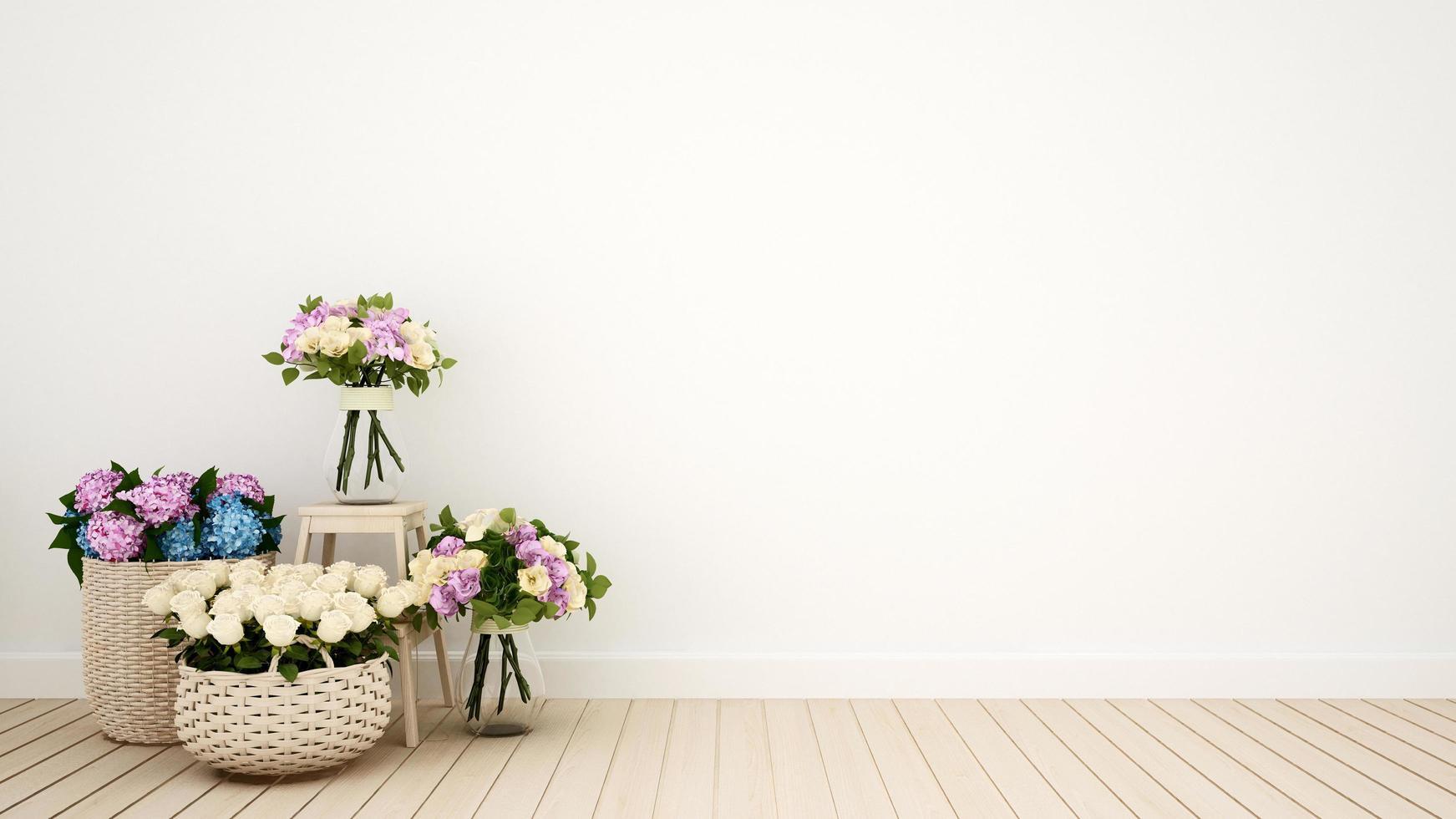 soggiorno o altra decorazione della stanza fiore foto