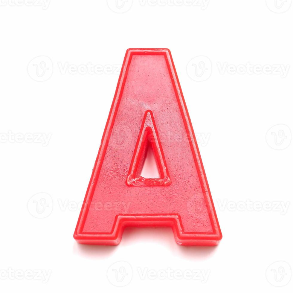 lettera minuscola magnetica a foto