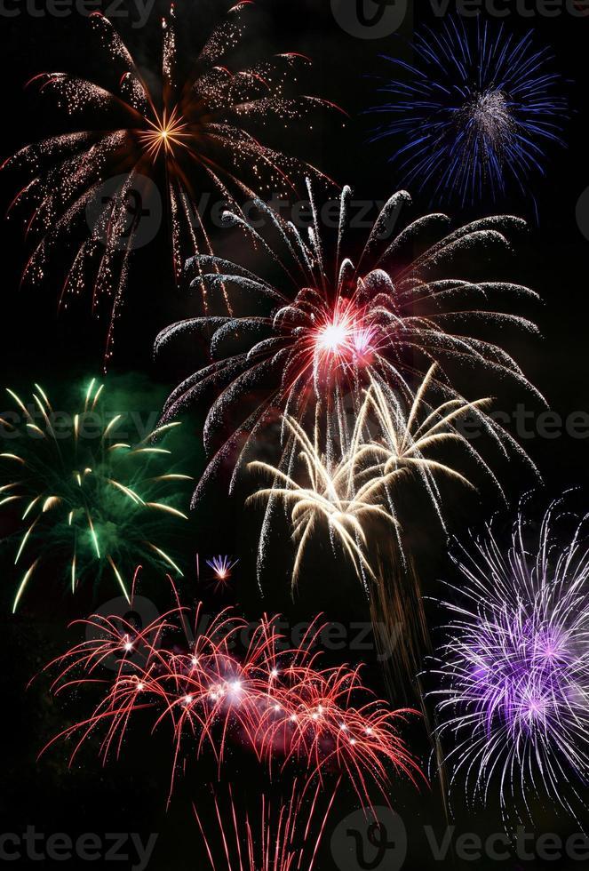finale fuochi d'artificio luglio foto