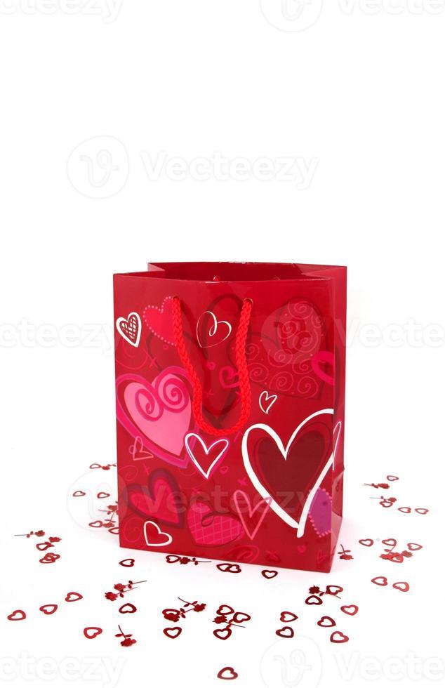 sacchetto regalo di San Valentino foto