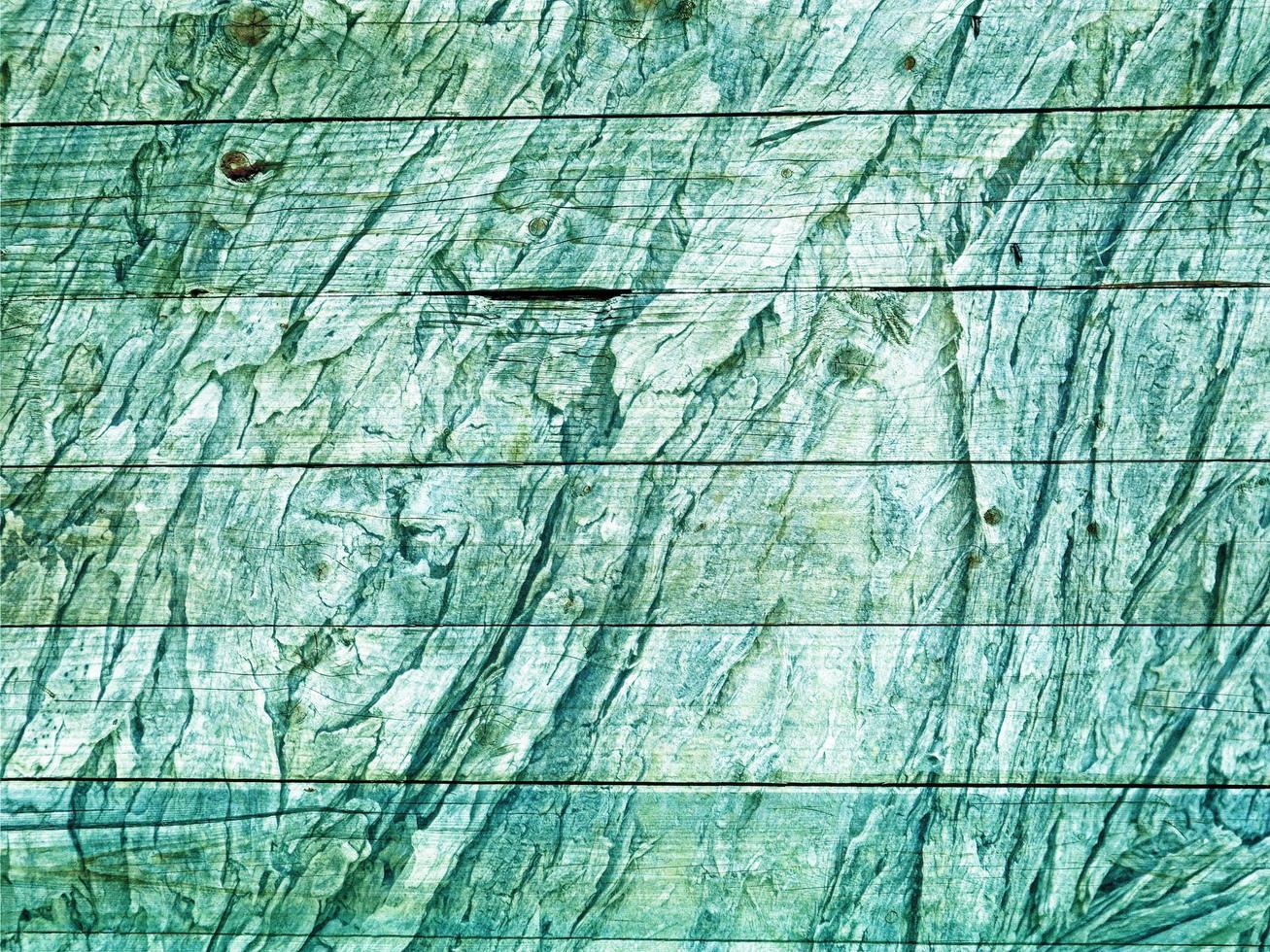 struttura in legno verde acqua foto