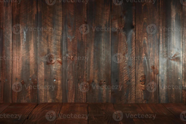 sfondo vuoto sgangherata in legno. inserire testo o oggetti foto