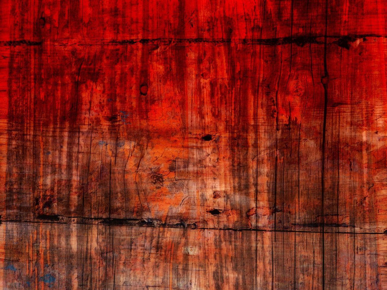 struttura in legno colorato foto