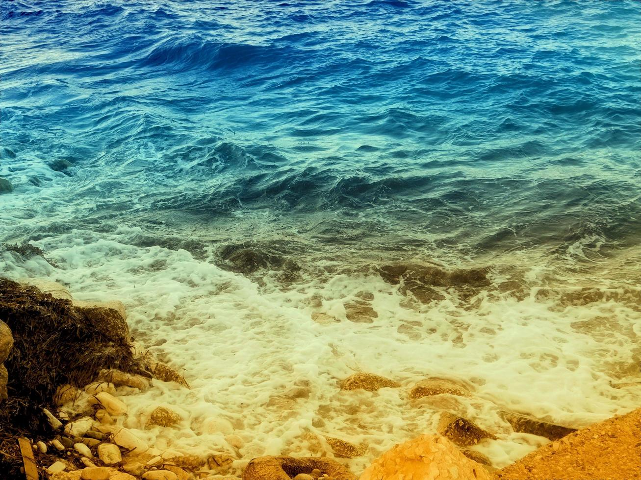 trama del mare all'aperto foto