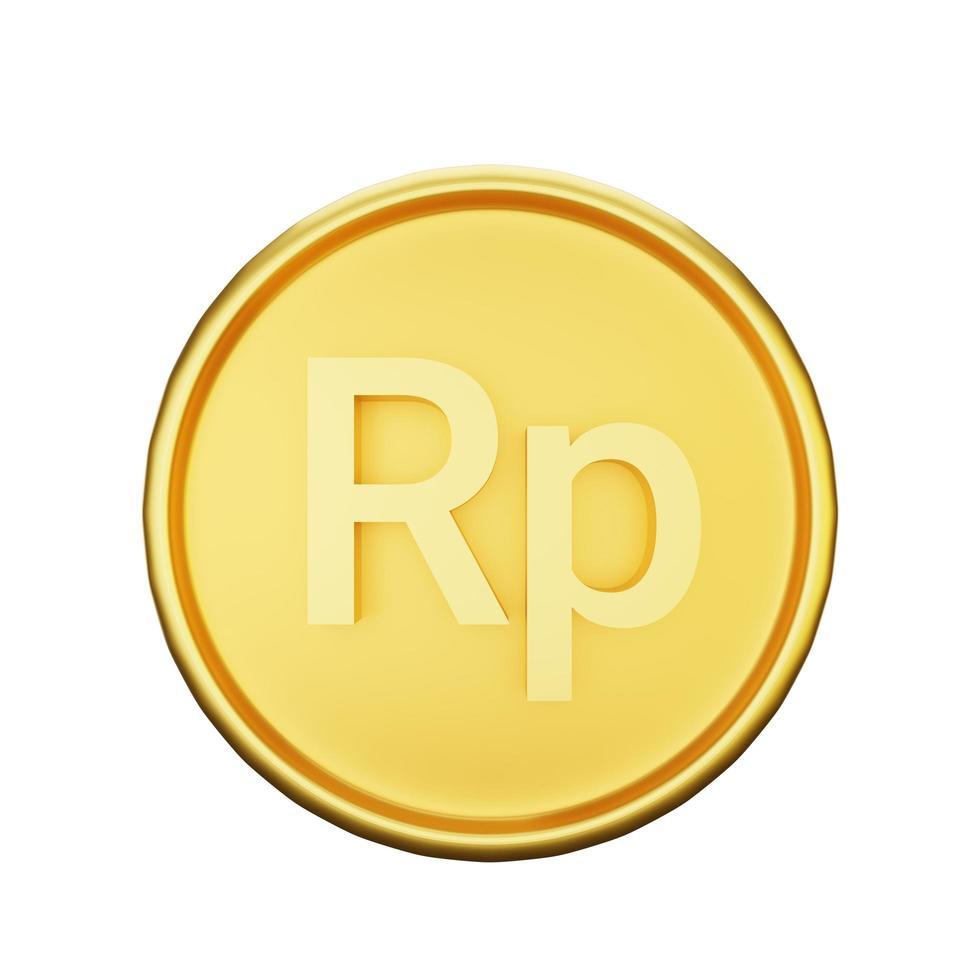 illustrazione di valuta rupia foto
