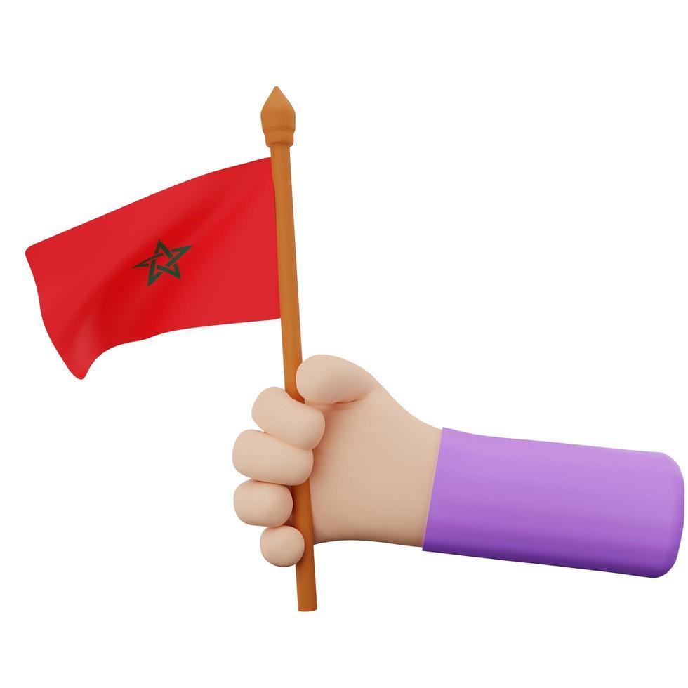 concetto di festa nazionale del Marocco foto