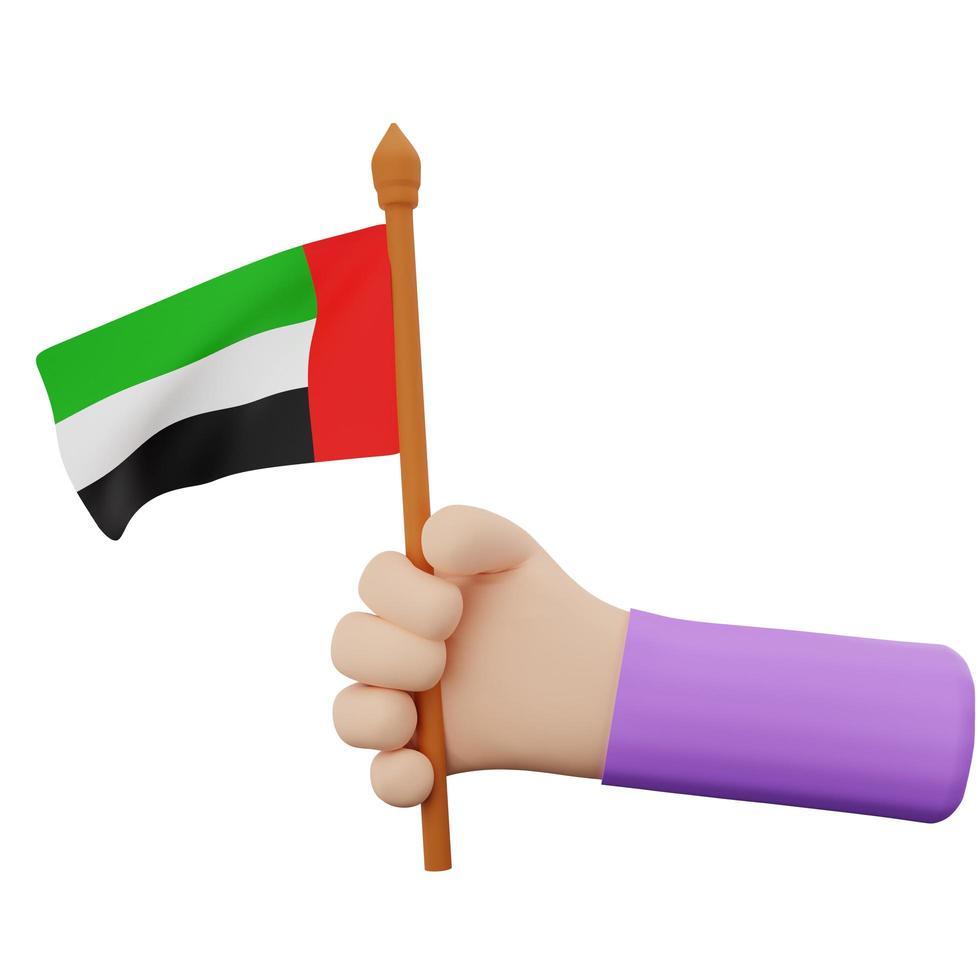 concetto di festa nazionale degli emirati arabi uniti foto