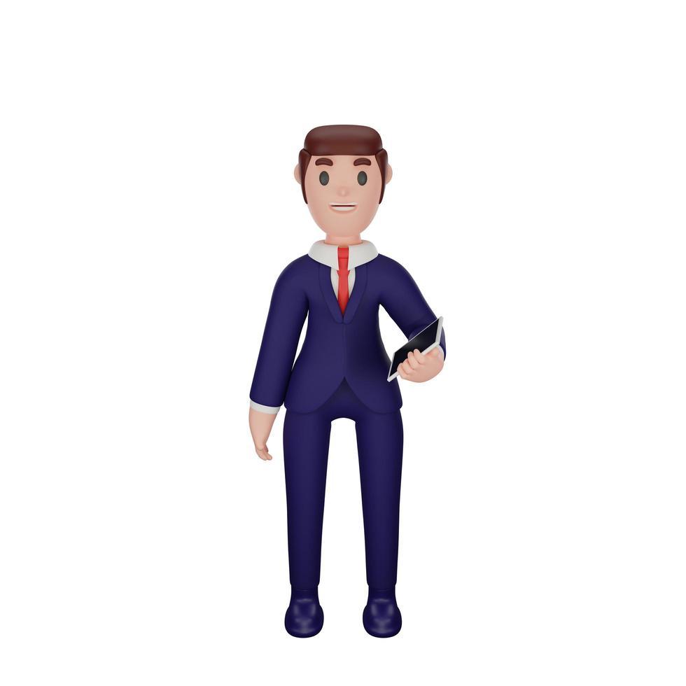 personaggio con concetto di business foto