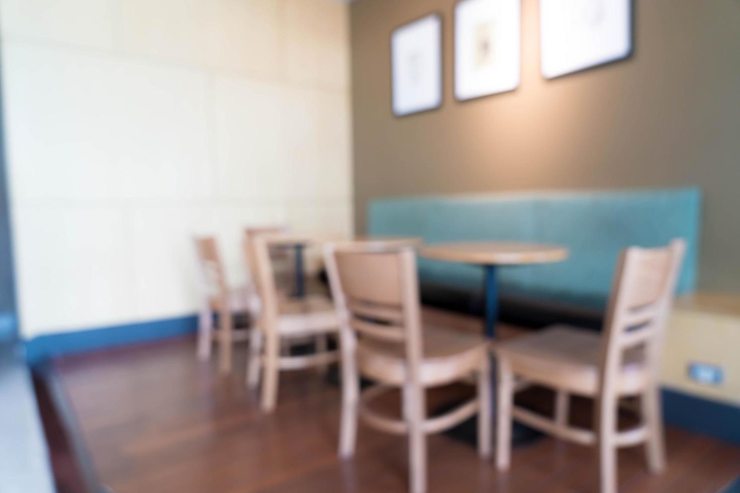 caffetteria sfocatura astratta foto