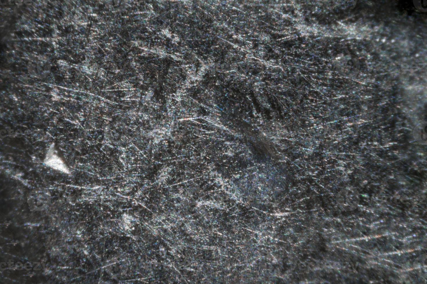 moneta israeliana da 1 siclo al microscopio foto