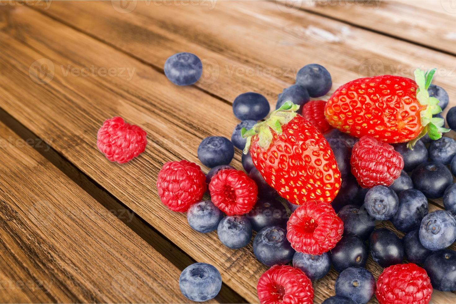 frutti di bosco, frutta, variazione foto