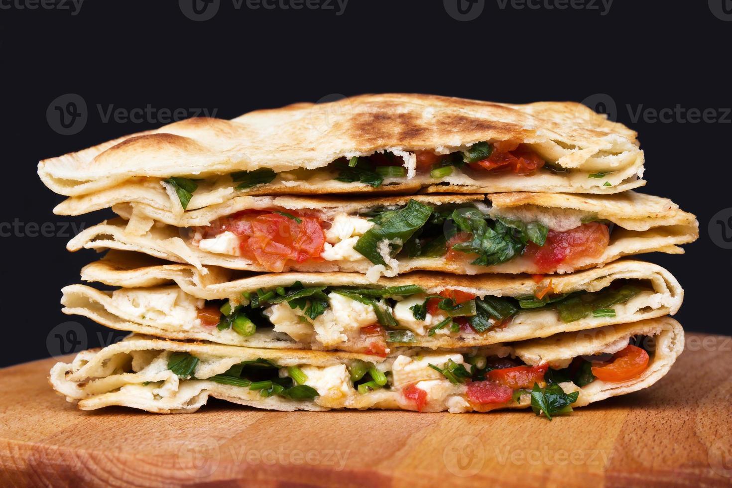 quesadillas messicane foto