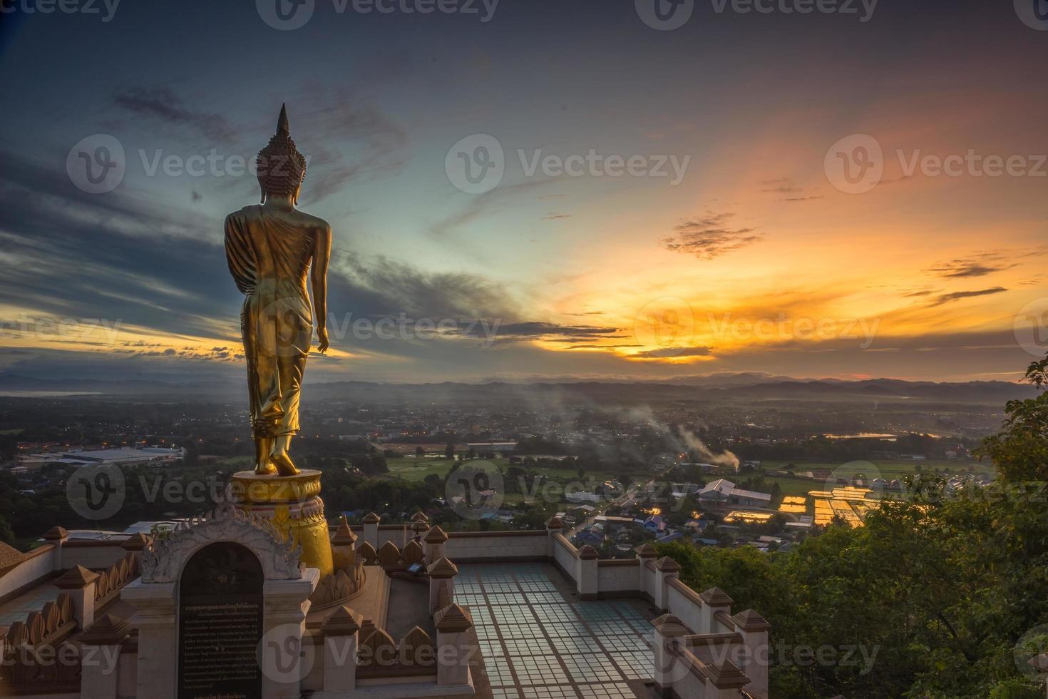 Wat Phra That Kao Nan, Thailandia. foto