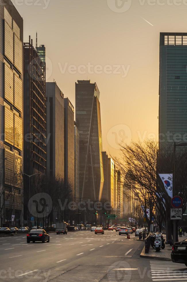 città di Seoul foto