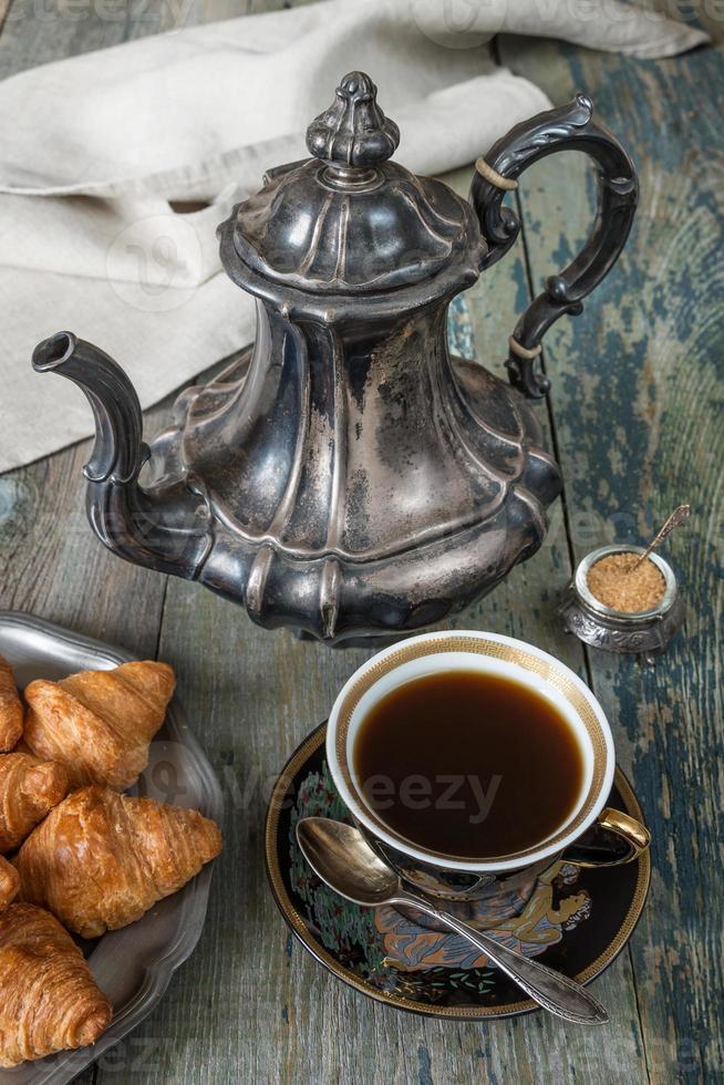 caffè e cornetti foto