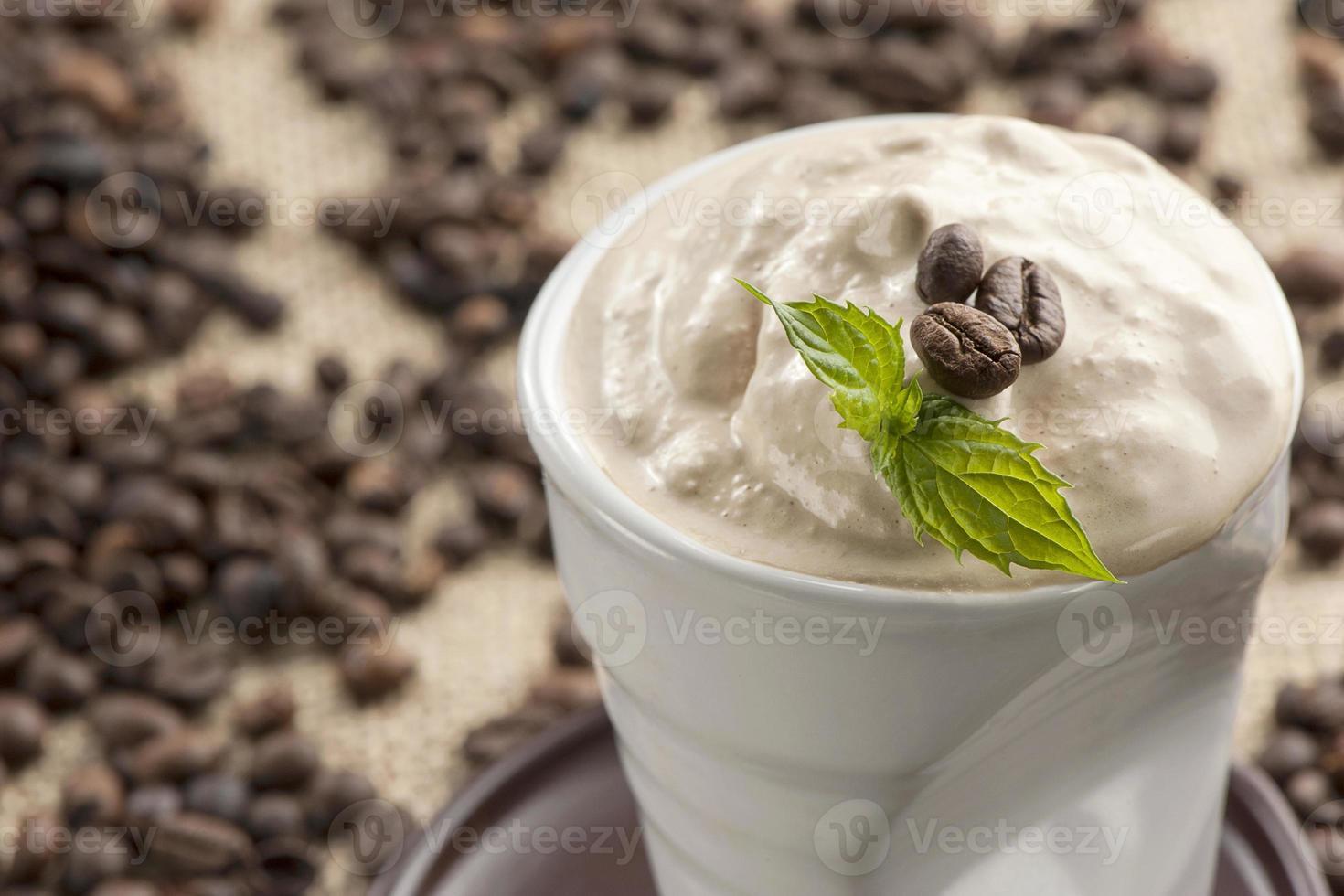 caffè ghiacciato foto