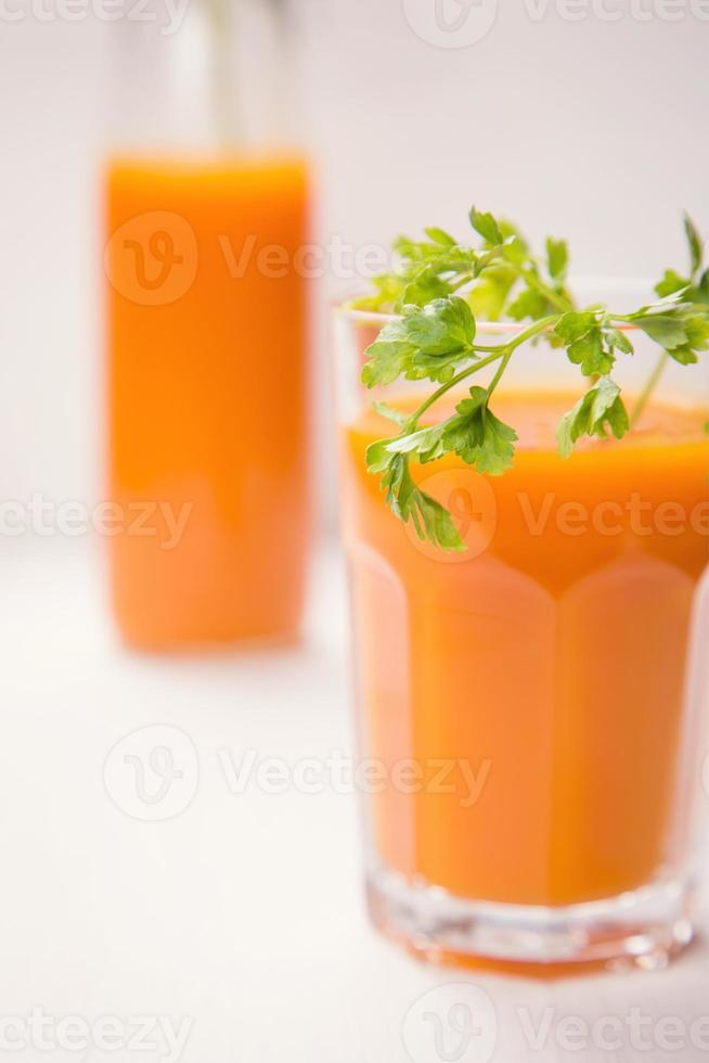 succo di carota foto