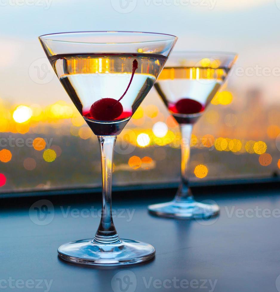bicchieri da cocktail foto