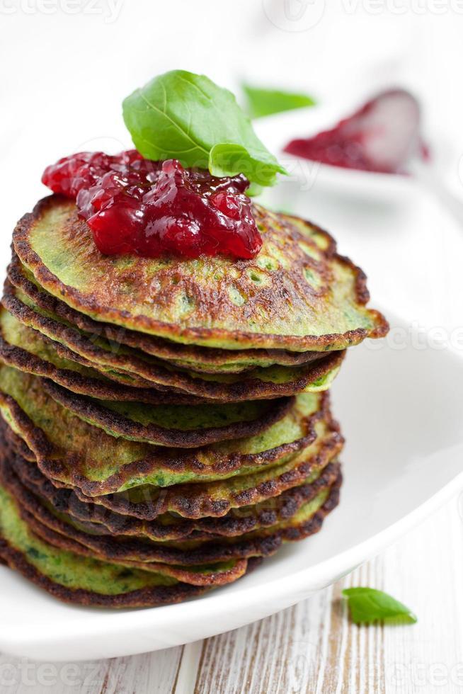 frittelle di spinaci foto