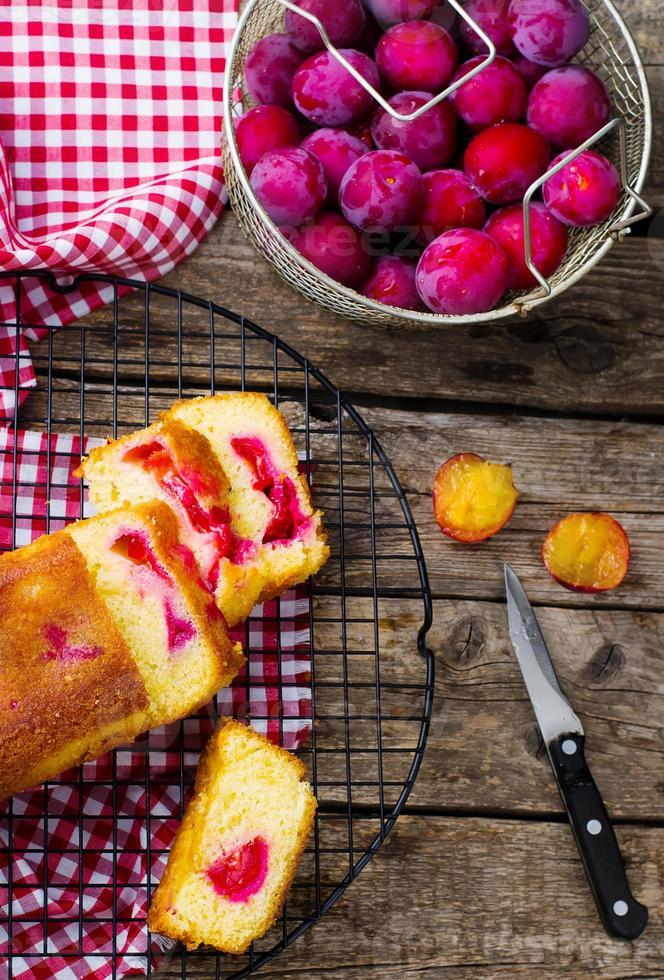 Plum Cake fatta in casa foto