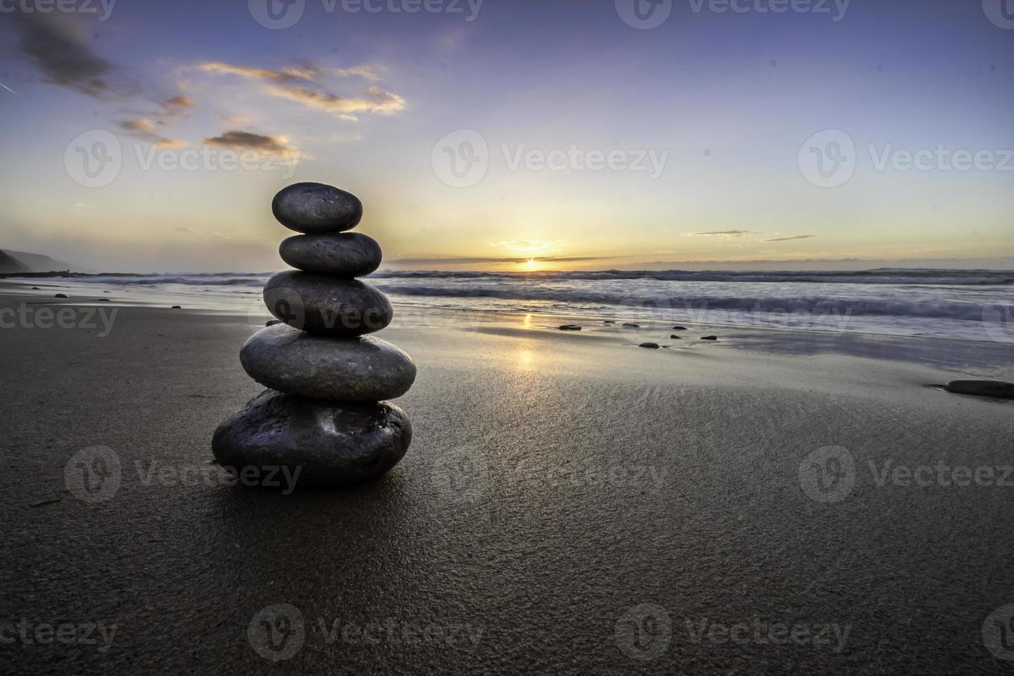 mucchio di rocce foto