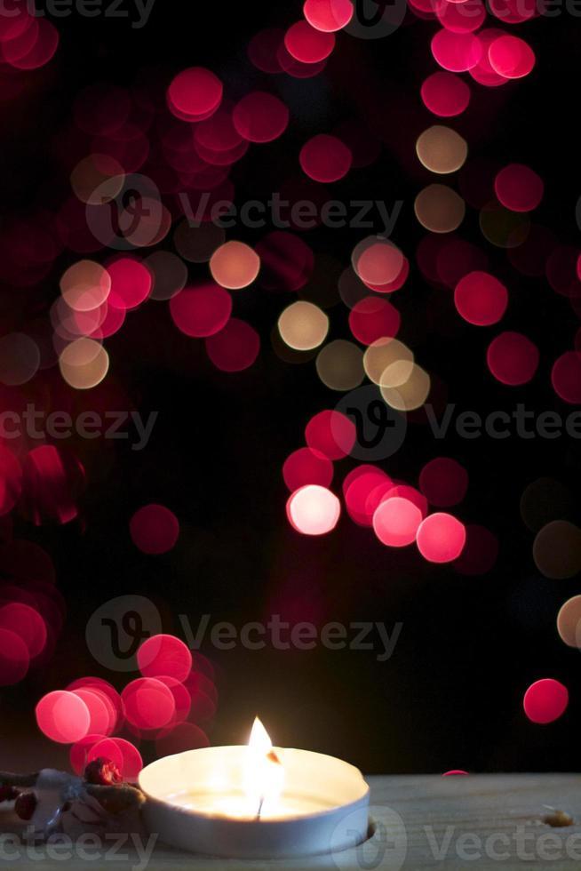 candela di natale foto