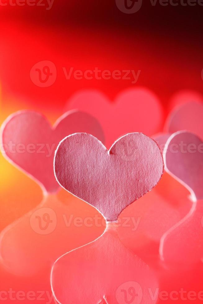cuore di carta foto
