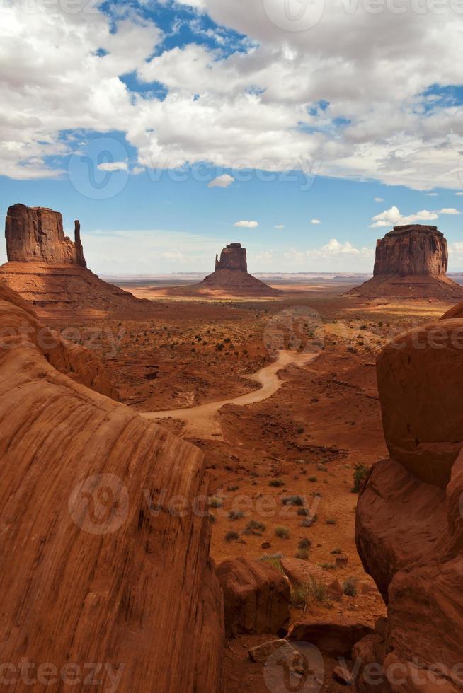 valle del monumento classico foto