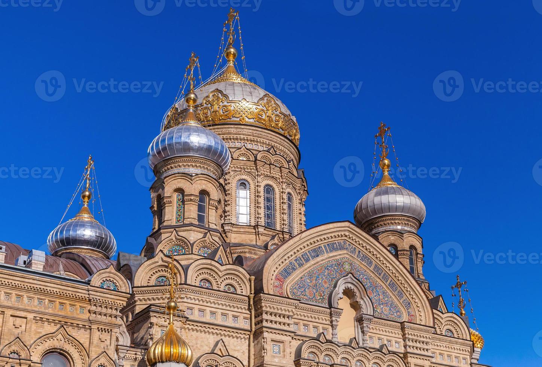 chiesa dell'assunzione, isola vasilevsky, san pietroburgo foto