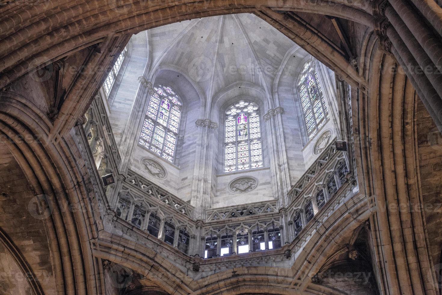 Cattedrale di Barcellona in Catalogna / Spagna foto