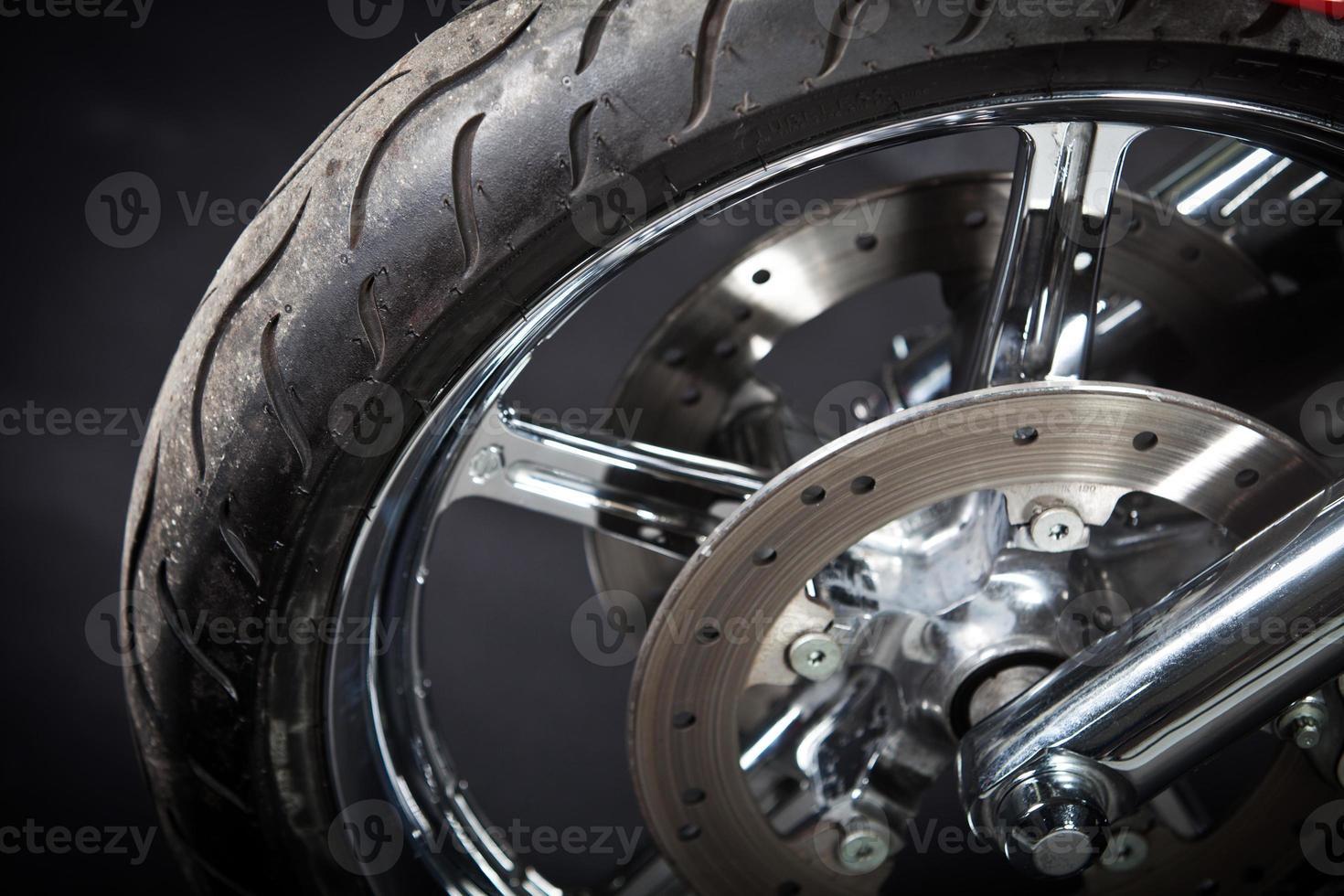 pneumatico per moto foto