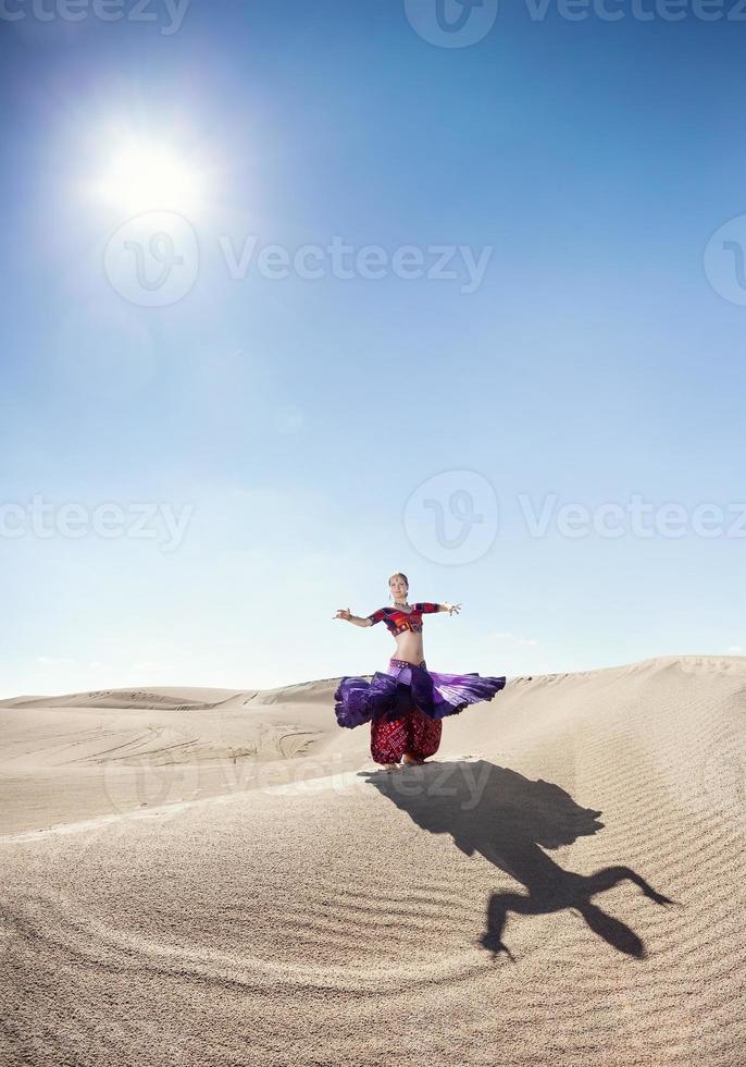 ballare nel deserto foto