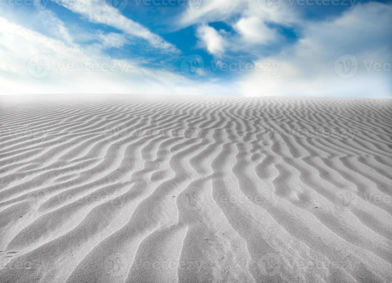 deserto di sabbia foto