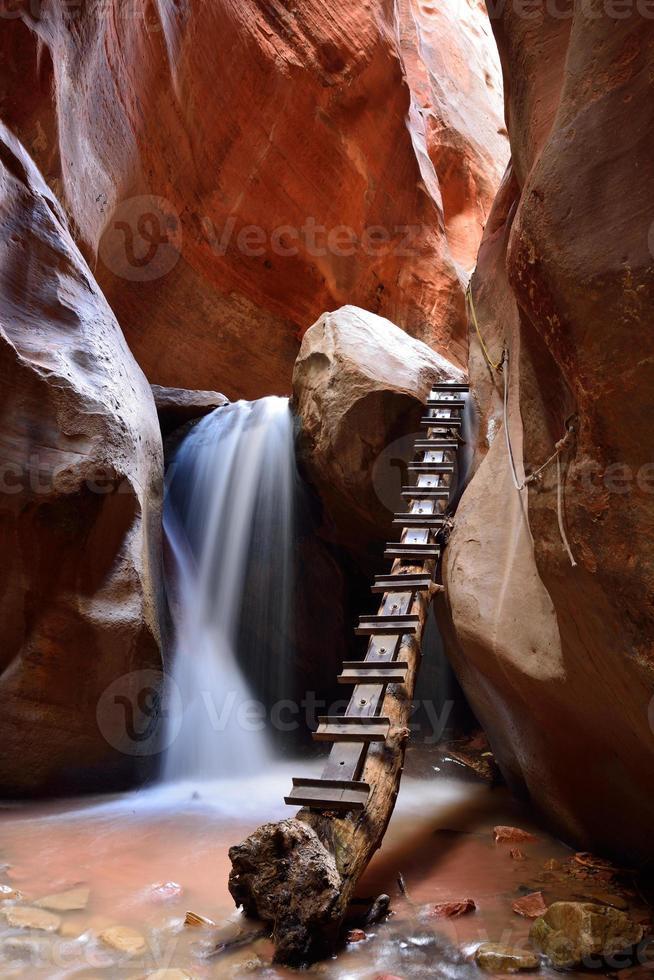 kanarra creek slot canyon foto