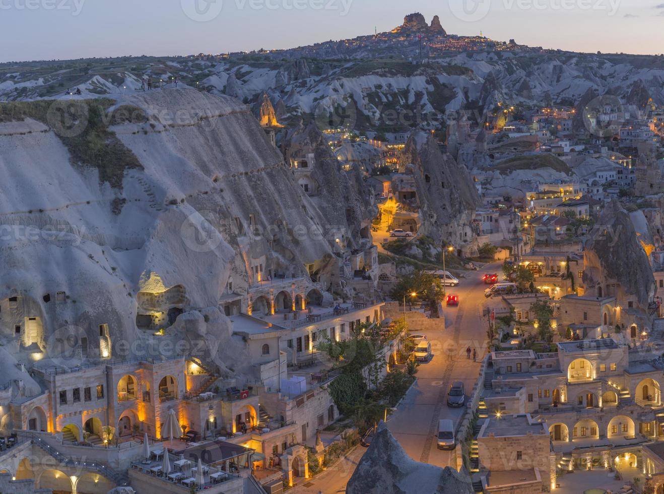 paesaggio della Cappadocia, Turchia foto