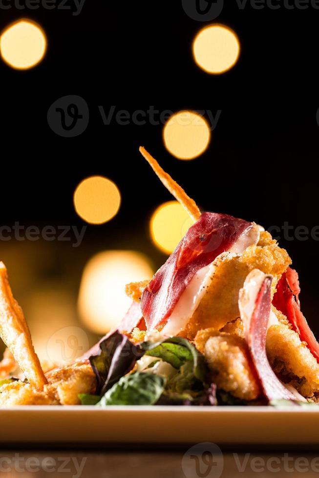 bastoncini di pollo foto