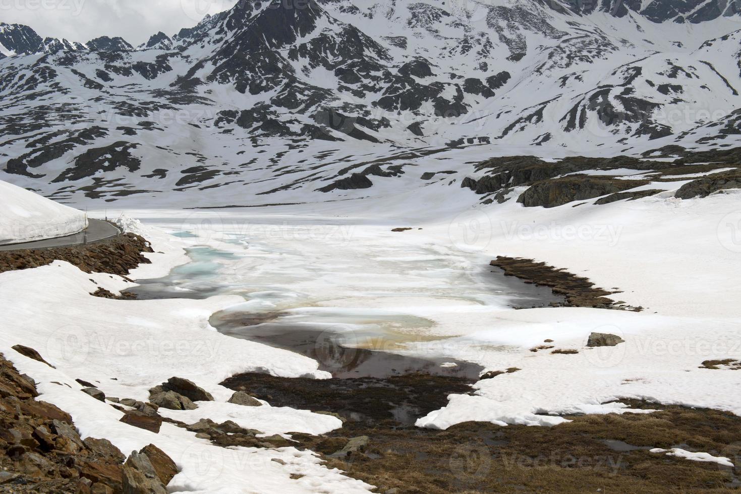 passo gavia, dolomiti, alpi, italia foto