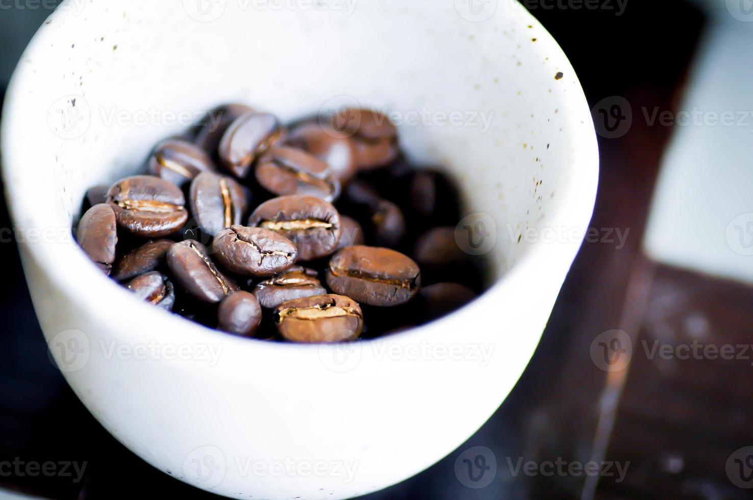 chicchi di caffè foto