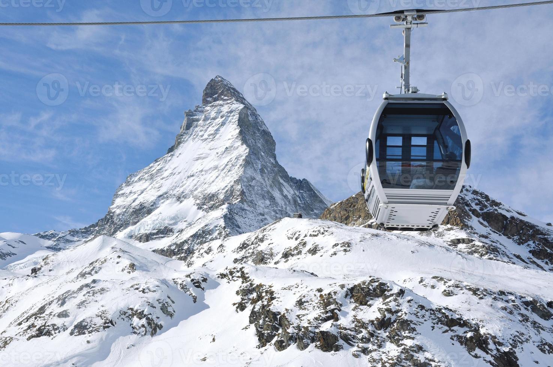il famoso cervino montano svizzero foto