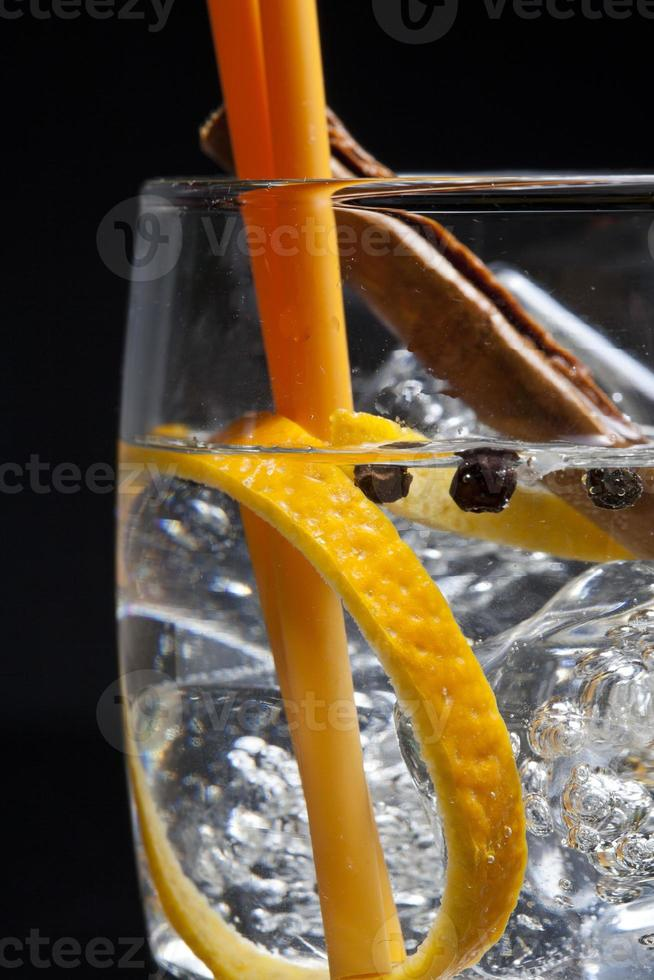 cocktail gin tonic foto