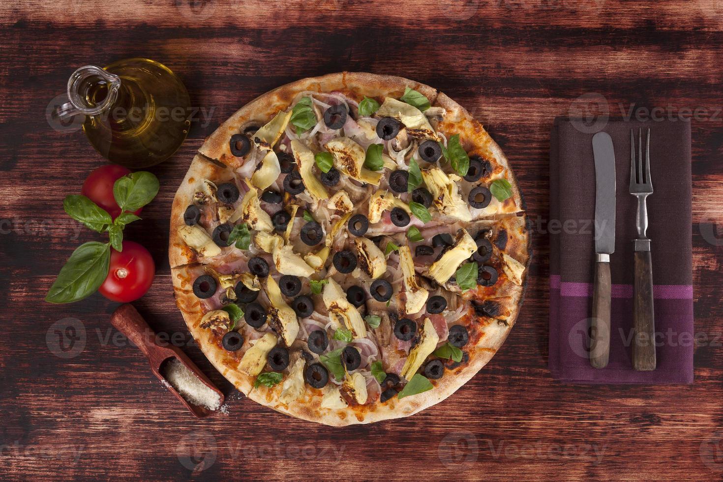 Pizza. foto