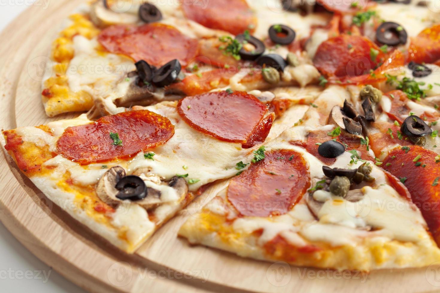 salame per pizza foto