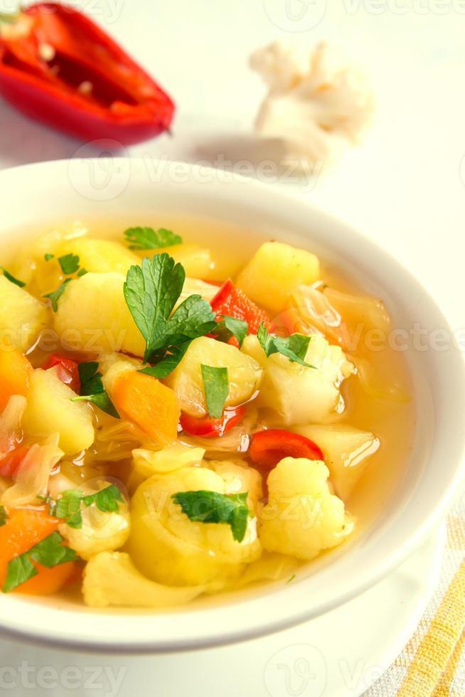 zuppa di verdure foto