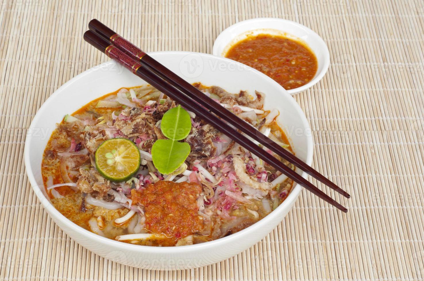 cucina asiatica: johor laksa foto