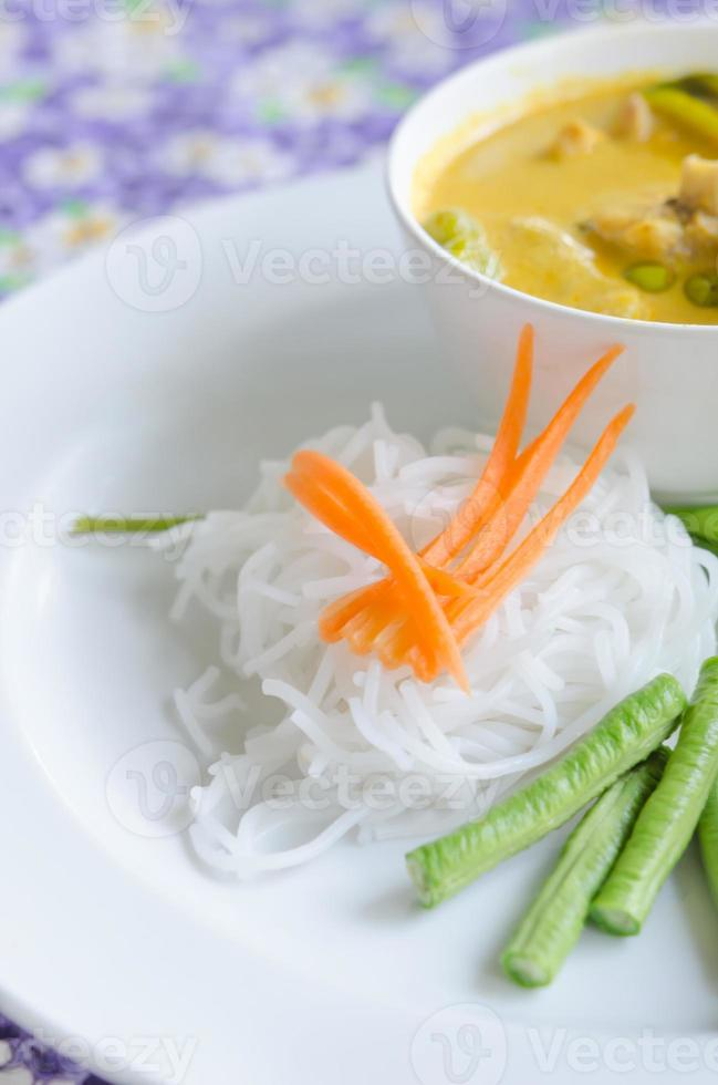 curry tailandese foto